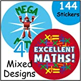Maths Themed Reward Stickers