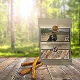 Sano naturale cani Snack in bovini schlund | Natura kausnack essiccate rinder schlund strisce | Tiera Natural carne bovina kausticks
