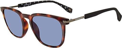 Converse Square Men'S Sunglasses - Sco051Q, 52 Blue