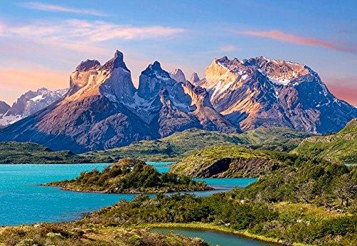 Unbekannt Puzzle 1500 Teile - Torres del Paine - Chile Patagonien - Nationalpark - Landschaft Gebirge Berge Südamerika