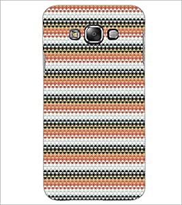 Printdhaba Pattern D-5190 Back Case Cover For Samsung Galaxy E7