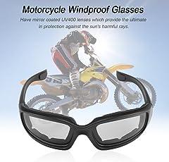 FairytaleMM Motorrad-Gläser Windproof Staubdicht Brillen Brille Outdoor-Brillen