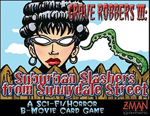 Z-Man Games 4009 - B-Movie: Grave Robbers 3: Surburban Slash