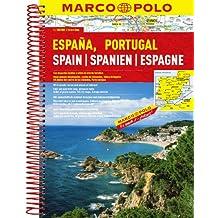 MARCO POLO Reiseatlas Spanien, Portugal 1:300.000 (MARCO POLO Reiseatlanten)