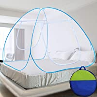 Coroid Mosquito Net Double Bed Nets for King Size Foldable Mosquitoes Net with Adults Child Maskito, 3 Pair Saviours…