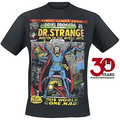 Doctor Strange Mystic Arts Cover T-Shirt nero M