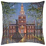 PHILLY - Throw Pillow Cover Case (18