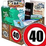 40 Geburtstag | Pflegebox aus der DDR | Geschenke Geburtstag Mann