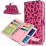 iPhone 5y 5S se funda de piel, w-pigcase colorida Exquisito PU Funda de piel con diseño de Lovely y cómodo feelling para iphone 5/5S/Se