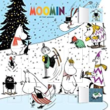 Moomin - Snowy Advent Calendar (with stickers)