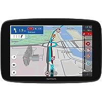 TomTom LKW Navigationsgerät GO Expert (6 Zoll HD-Bildschirm, Routen für große Fahrzeuge, Stauvermeidung dank TomTom…