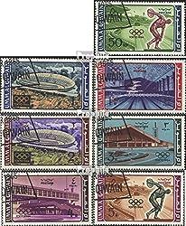 Prophila Collection UMM al Kaiwain 19A-25A (kompl.Ausg.) 1964 Olymp. Sommerspiele ´64, Tokio (Briefmarken für Sammler) Olympische Spiele