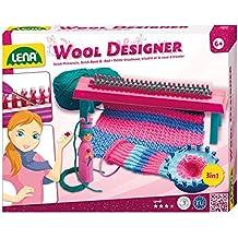 Lena 42003 - Wool Designer, Maglieria giocattolo per cucire con la lana