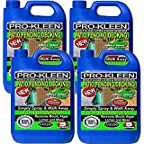 Pro-Kleen Simply Spray and Walk Away Concentrate Patio - Fencing - Decking - Mould Algae and Moss Killer 4 x 5 Litres