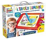 Lisciani Giochi - Leggo a 3 Anni con Tavolo Luminoso, Multicolore, 68593