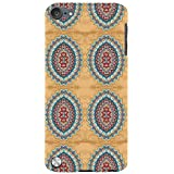 For Apple IPod Touch 5 Beautiful Pattern, Pattern, Nice Pattern, Floral Pattern Designer Printed High Quality Smooth Matte Protective Mobile Pouch Back Case Cover By BUZZWORLD