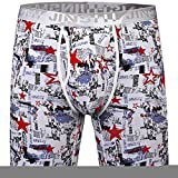 Best Athletic Underwears - JINSHI Mens Ultimate Long Leg Perormance Bamboo Boxer Review