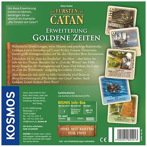 KOSMOS-694913-Die-Frsten-von-Catan-Erweiterung-Goldene-Zeiten-Strategiespiel