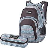 DAKINE 2er SET Laptop Rucksack Schulrucksack 33l CAMPUS LG + SCHOOL CASE Mäppchen Tracks