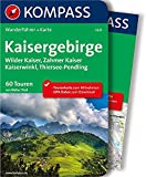 Kaisergebirge: Wanderführer mit Extra-Tourenkarte, 60 Touren, GPX-Daten zum Download (KOMPASS-Wanderführer, Band 5625)