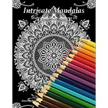 Intricate Mandalas, Midnight Edition, Volume 3