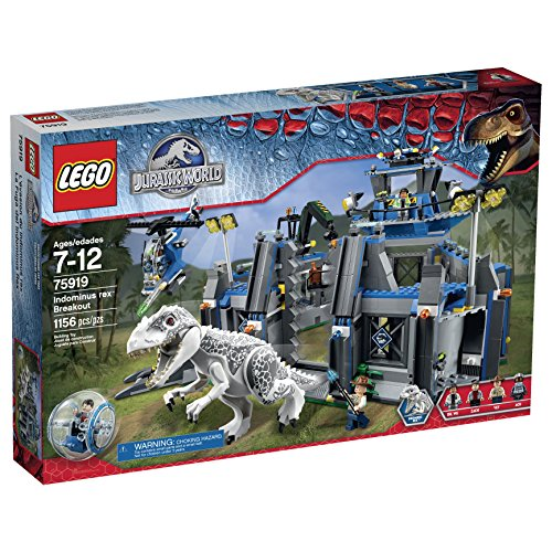 LEGO Jurassic World Indominus Rex Breakout 75919 Building Kit by LEGO Jurassic...