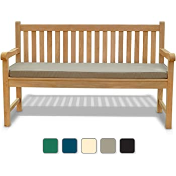 Enjoyable Jati York Garden Bench A Grade Teak 1 5M 5Ft Fully Assembled Outdoor Bench Brand Quality Value Taupe Cjindustries Chair Design For Home Cjindustriesco