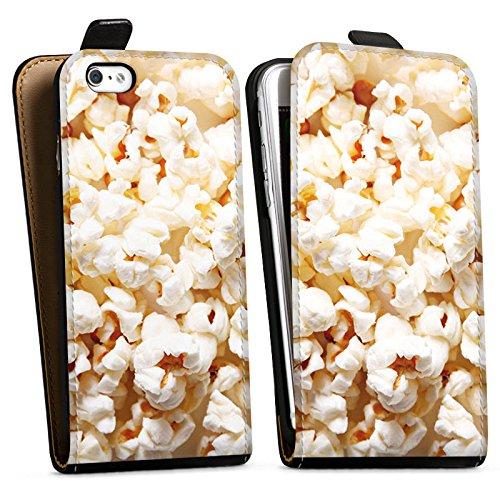 Apple iPhone X Silikon Hülle Case Schutzhülle Popcorn Kino Poppin Corn Downflip Tasche schwarz