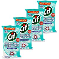 Cif Lingettes Nettoyantes Antibactériennes 480 Lingettes