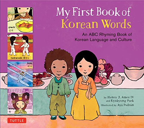 My First Book of Korean Words: A...