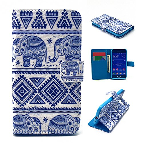 Nutbro Galaxy Ace Style Case, Galaxy G310 Case, Premium PU Leather Wallet Folio Protective Skin Cover Case with Magnetic Closure for Samsung Galaxy Ace Style G310