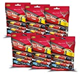 Craze 00229 - Mini Slap Snap Bands Disney Pixar Cars 3, 6 Foilbags, sortiert
