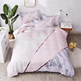 Shamdon Home Collection 3PCS Duvet Cover Ultra Soft Hypoallergenic Microfiber Quilt Cover Set with Zipper Closure, 2…