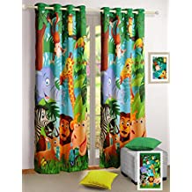 rideaux jungle. Black Bedroom Furniture Sets. Home Design Ideas
