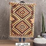 BAGEHUA pakistanais sur mesure géométrique ethnique turque Tapis Salon Tapis de plancher, couleur, 313 119x88cm...