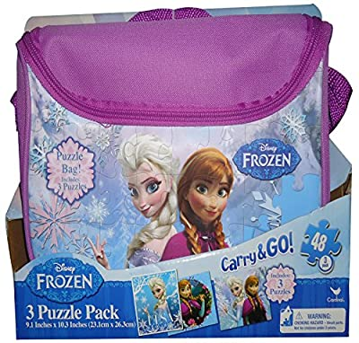 Disney Frozen Puzzle Pack in Purse por Disney Frozen