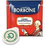 Caffè Borbone Cialda Compostabile, Miscela Rossa - 100 Cialde - Sistema ESE