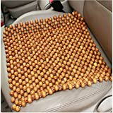NIKAVI Natural Bamboo Wood Car/Chair/Office//Dinning Room Chair Mats -Reduces Heat (CHOCOLATE)