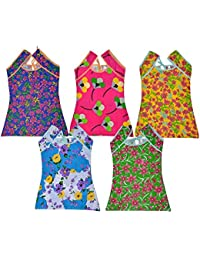 Sathiyas Girls Tops (Pack of 5)