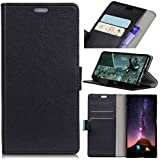 Nokia 8 Case, Codream Nokia 8 Protective Skin Folio Flip Cover Phone Case Slim Slim Shell For Nokia 8 (Black)