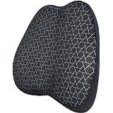 AmazonBasics - Cuscino lombare di supporto, in memory foam, motivo a triangoli