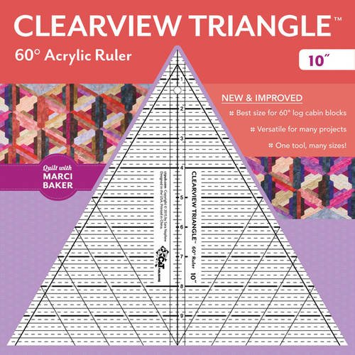 clearview-triangle-60-degree-acrylic-ruler-10-inch