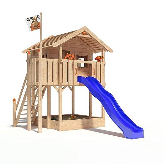 Großartig ISIDOR WONDER WOW Spielturm Kletterturm Baumhaus Rutsche Schaukeln  WQ01