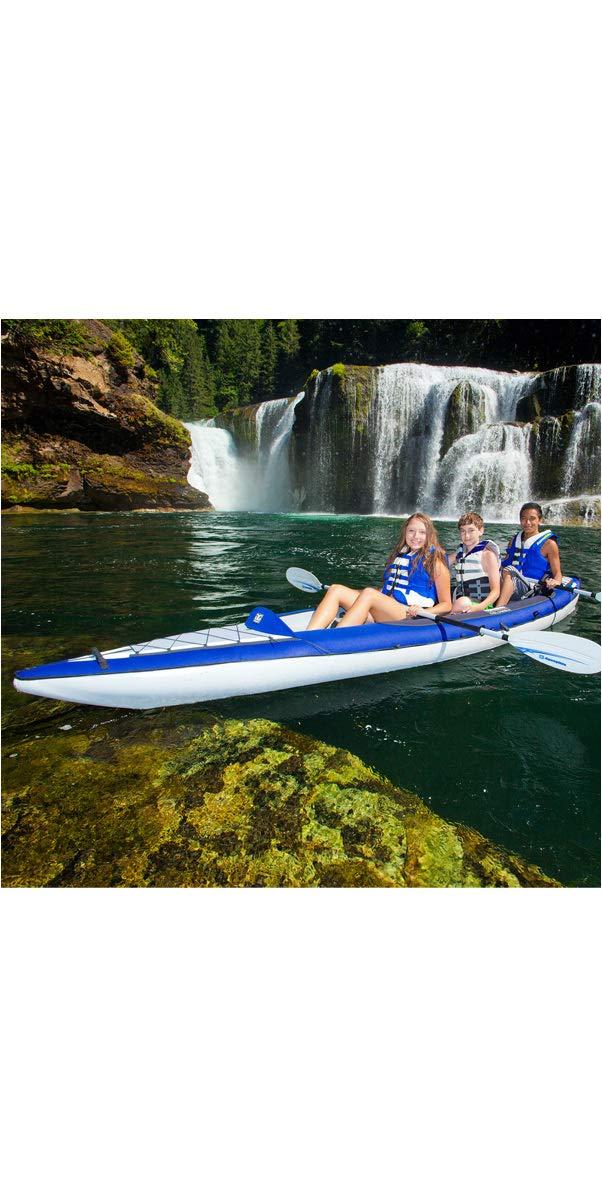 617zZwZpc1L - Aquaglide Columbia XP XL Tandem Kayak + 2Free Paddles + Pump