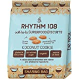 Rhythm 108 Coconut Cookie Tea Biscuit Bag 1 bag (Case of 12)