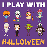 I Play With Halloween: Activities For Kids (English Edition)