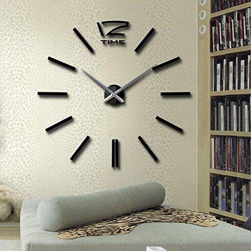 CrazySell Splendido Orologio da Parete Russuoso con I Numeri Adesivi Murales