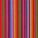 Fabulous Fabrics Webstoff Sancho Pancho - rot - Meterware