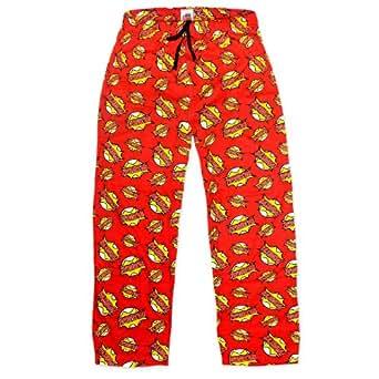 The Big Bang Theory Gift Mens Bazinga Lounge Pants Pyjama Bottoms Small