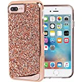Boitier Case-Mate Brilliance pour Apple iPhone 7+/6+/6s+ - or rose